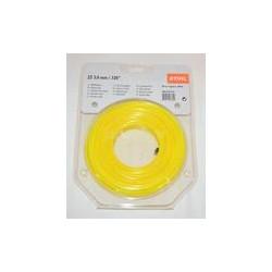 Ø 3,0 mm x 162 m žlutá