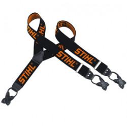 Šle černá/oranžová